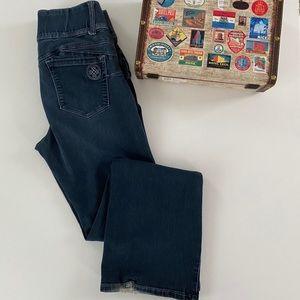Laurie Felt Silky Curve bootcut jeans, Sz. M